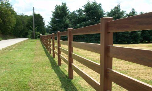 деревянный ранчо