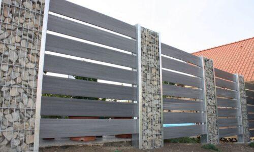 Gabionen: Zaunsystem - Steelmanufaktur inside Wpc Elemente - Haus Design Information Ideas